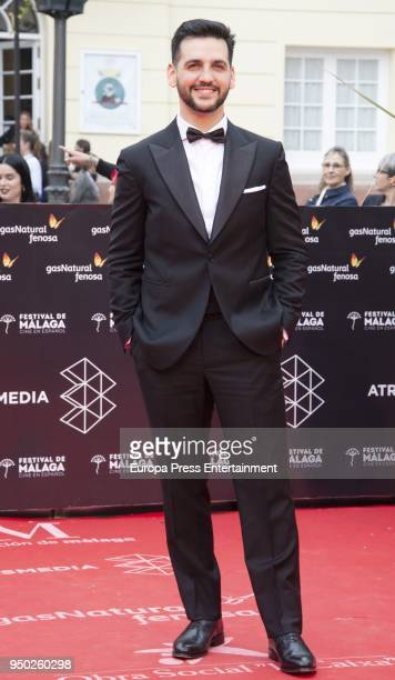 Fran Perea during the 21th Malaga Film Festival closing ceremony at the Cervantes Teather on April 21 2018 in Malaga Spain