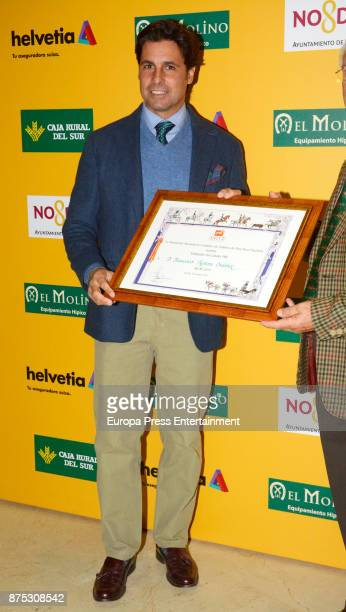 Fran Rivera attends the International Horse Show of Spain Award 2017 at Fibes on November 16 2017 in Seville Spain