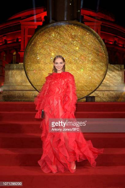 Fran Summers during The Fashion Awards 2018 In Partnership With Swarovski at Royal Albert Hall on December 10 2018 in London England
