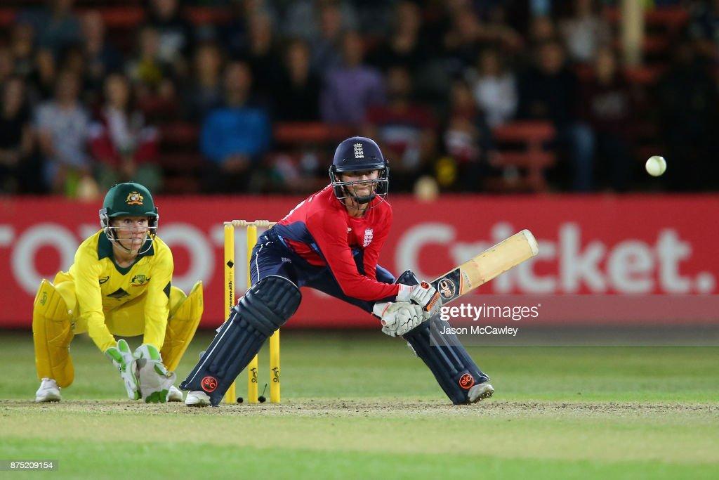 Australia v England - 1st Women's T20