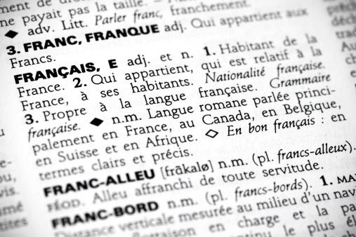 Français in the dictionary 120096931