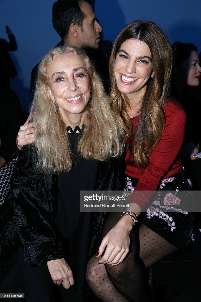 Giambattista Valli : Front Row  - Paris Fashion Week Womenswear Fall/Winter 2016/2017