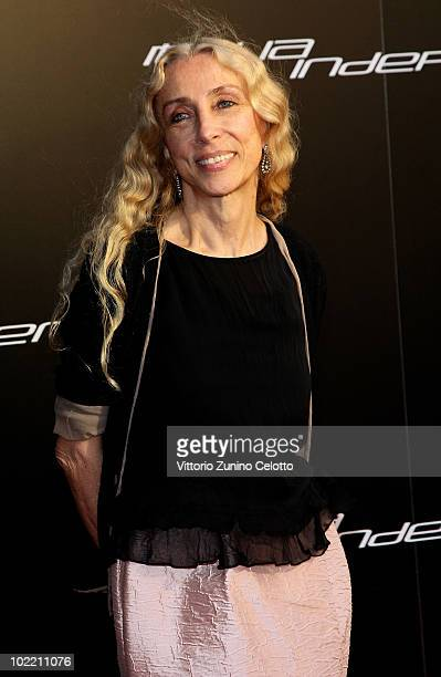 Franca Sozzani attends A Casa Di Lapo cocktail party as part of Milan Fashion Week Menswear S/S 2011 on June 18 2010 in Milan Italy