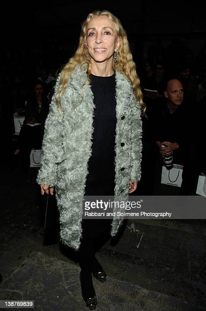 Franca Sozzani attends the Alexander Wang Fall 2012 fashion show during MercedesBenz Fashion Week at Pier 94 on February 11 2012 in New York City