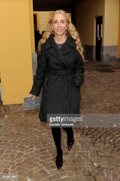 Franca Sozzani attends the Fendi Milan Fashion Week Autumn/Winter 2010 show on February 24, 2010 in Milan, Italy.