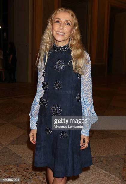 Franca Sozzani attends the Fondazione IEO CCM Christmas Dinner For on December 16 2014 in Monza Italy
