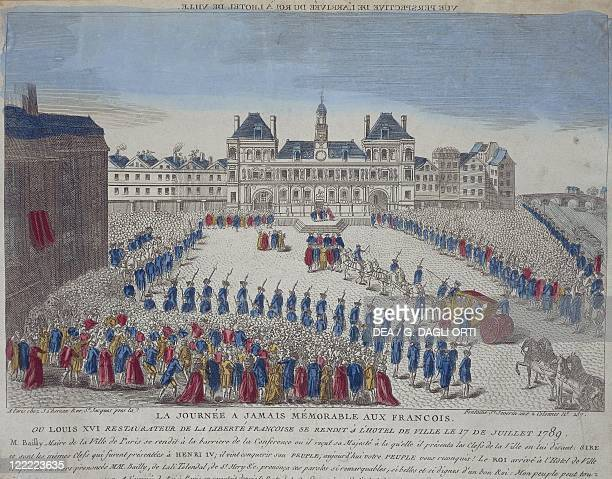 France 18th century Cortège of Louis XIV