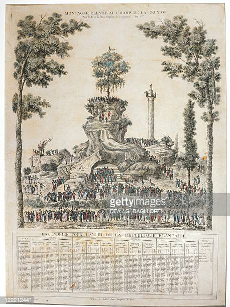 French Revolutionary Calendar Stock Photos And Pictures