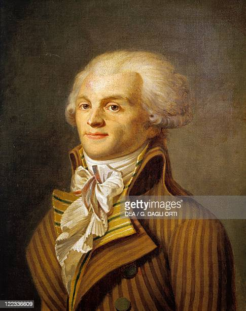 France 18th century Portrait of Maximilien de Robespierre French politician