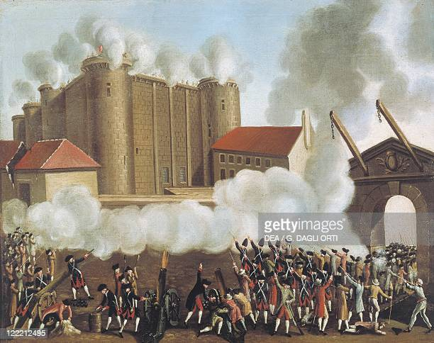 France 18th century The storming of the Bastille