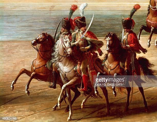 France, 19th century. Napoleon's Hussars. Versailles, Château De Versailles