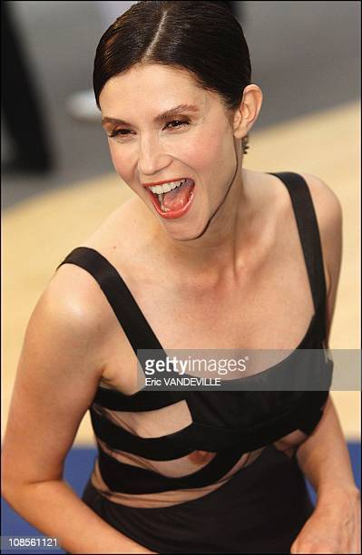 France actress Alessandra Martines in Venice, Italy on September 6th, 2003