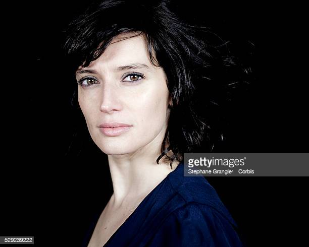 France - Actress - Helene Seuzaret- Photographed in Montreuil - France