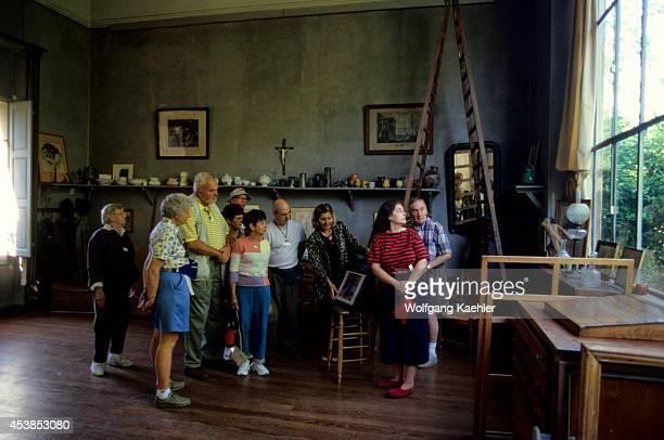 France Aixenprovence L'atelier Cezanne Tourists