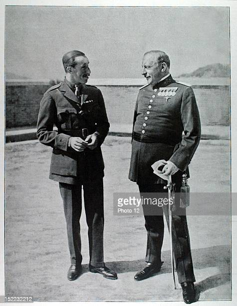 France Alfonso XIII, King of Spain, and general Primo de Rivera.