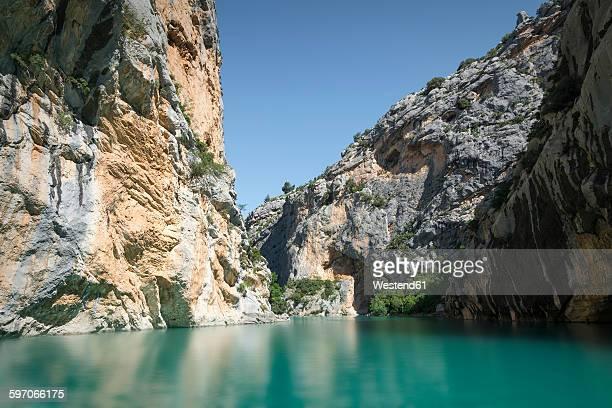 france, alpes-de-haute-provence, verdon gorge - gorges du verdon photos et images de collection