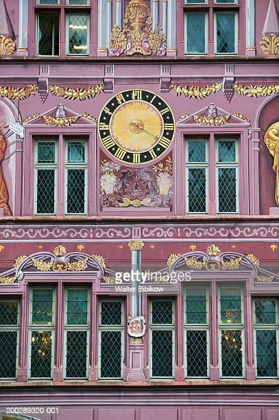France, Alsace (Haut Rhin), Mulhouse, Hotel de Ville, exterior detail