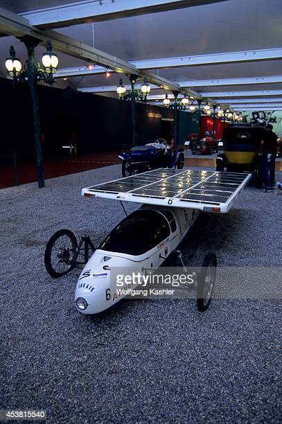 France Alsace Region Mulhouse National Automotive Museum Solar Powered Car