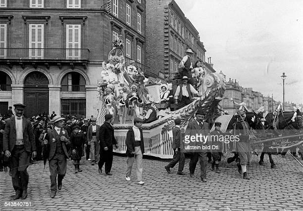 """France - Aquitaine - Bordeaux The Vintage Festival """"Fête des Vendanges"""" is a annual wine festival with divers events and pageants. The parade float..."""