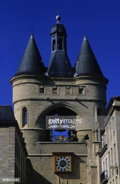 France Aquitaine Gironde 33 Bordeaux Vieux Bordeau Saint Eloi district Grosse Cloche built in XV th century France Aquitaine Gironde 33 Bordeaux...