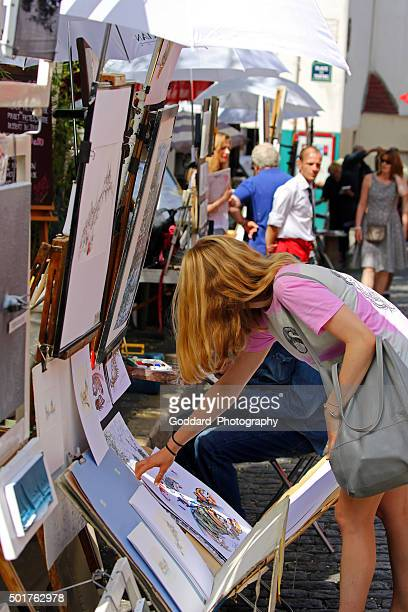 France: Artists at Place du Tertre in Montmartre