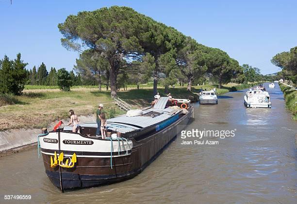 France, Aude, Homps, the Canal du Midi