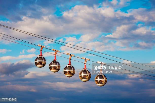 france, auvergne-rhone-alpes, grenoble, grenoble-bastille cable car - grenoble stock pictures, royalty-free photos & images