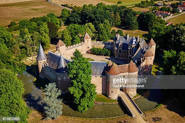 france, berry, ainay e vieil castle - cher stock pictures, royalty-free photos & images