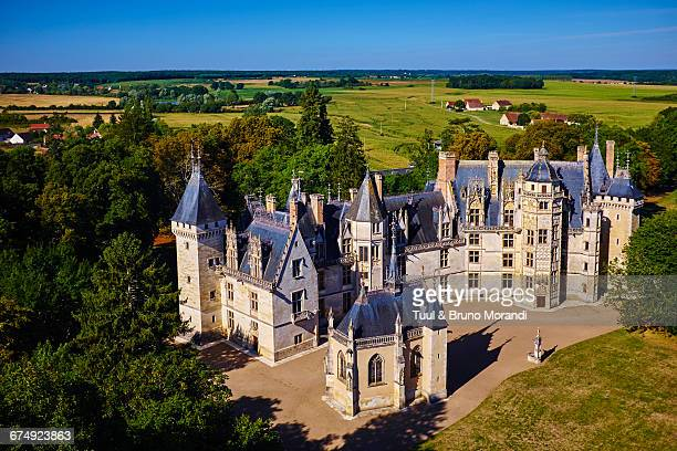 france, berry, meillant castle - cher stock pictures, royalty-free photos & images