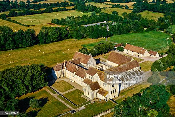 france, berry, noirlac abbey - cher stock pictures, royalty-free photos & images
