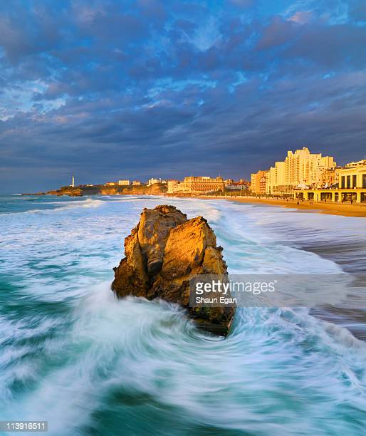 France, Biarritz, Pyrenees-Atlantique, Grand Plage