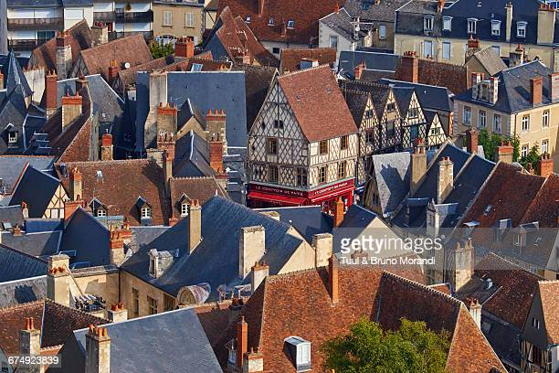 france, bourges, cityscape - cher stock pictures, royalty-free photos & images