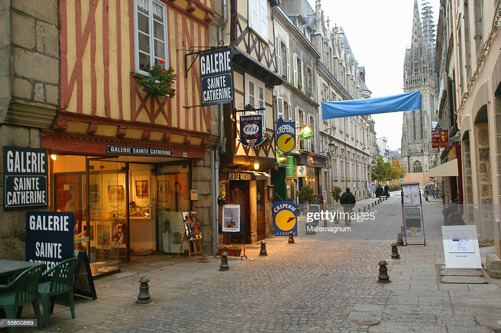 France, Bretagne, Brittany. Quimper : Stock Photo