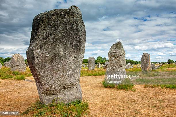 France, Brittany, Neolithic megaliths of Carnac