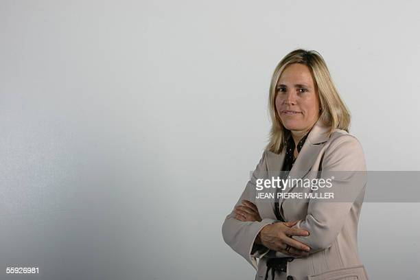 Brittish Managing Partner at Blueprint Partners Julia Harrison poses during the first edition of the Women's forum for the Economy and Society 14...