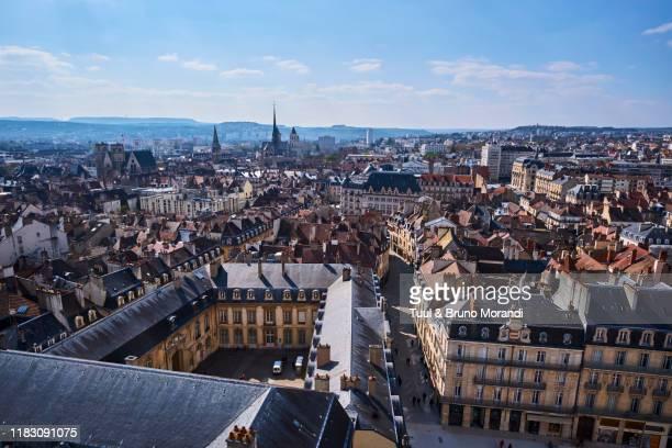 france, burgundy, côte-d'or, dijon, cityscape - côte d'or bildbanksfoton och bilder
