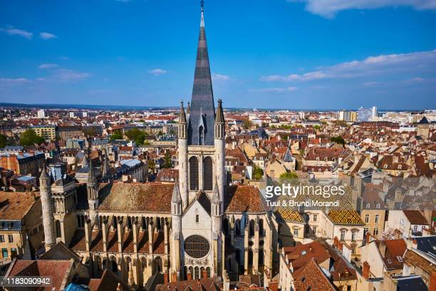 france, burgundy, côte-d'or, dijon, notre dame church - côte d'or bildbanksfoton och bilder