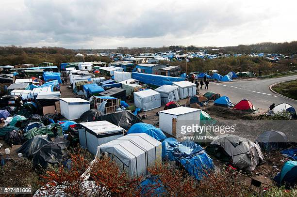 France Calais camp for refugees known as 'The Jungle' November 2015