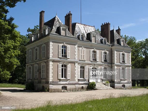 France Centre - Department Loir-et-Cher, Fougeres-sur-Bievre, Castle 'Chateau de La Boulas'