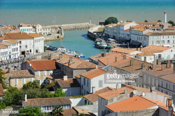 France, Charente Maritime, Ile de Re, St Martin-de-Re, The harbour