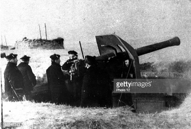France Coastal defense in the Pas de Calais June 1940 World War IIParis Bibliotheque Nationale