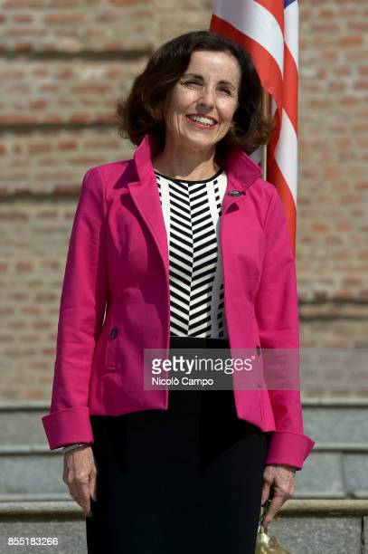 France Cordova, American Director of the National Science Foundation, smiles during the G7 Science and Technology Ministers' Meeting.