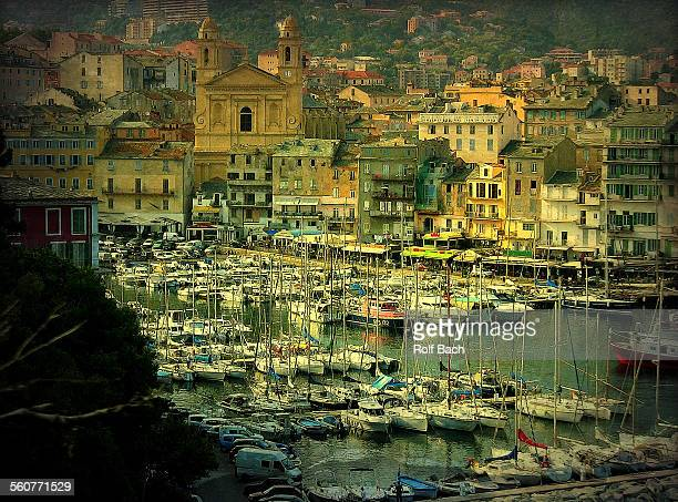France, Corsica, Bastia, Old Port