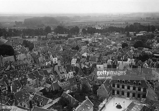 view of the town of Noyon