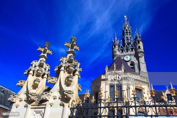 France. Douai. Town hall.