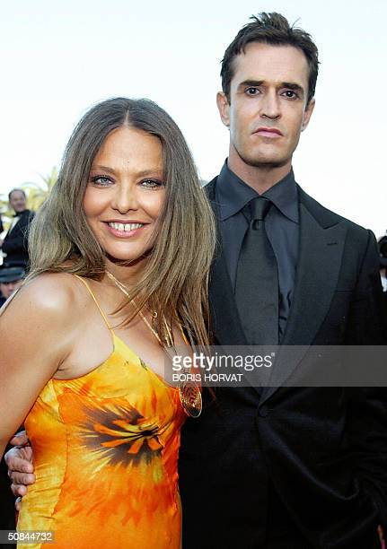 English actor Rupert Everett and Italian actress Ornella Muti arrive for the official projection of French director Agnes Jaoui's film Comme Une...