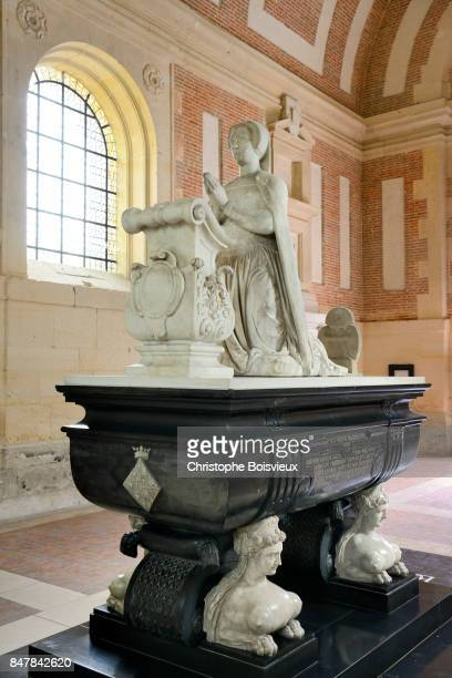 France, Eure-et-Loir, Anet castle, Tomb of Diane de Poitiers (16th C)