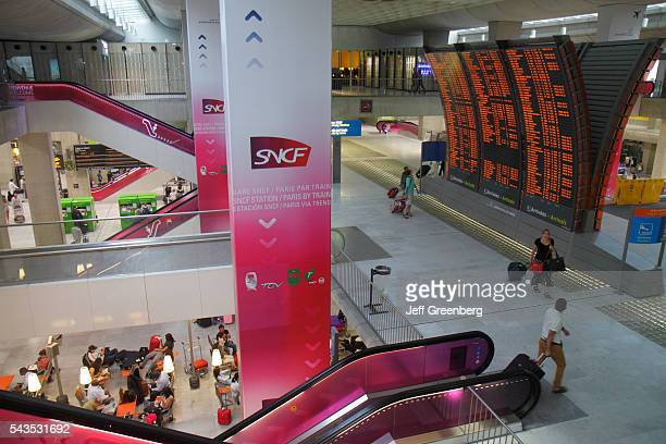 France Europe French Paris CDG Charles de Gaulle Airport ticket office train RER Metro SNCF RATP departures arrivals