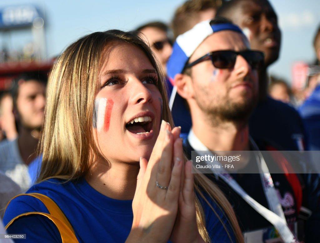 Denmark v France: Group C - FIFA Fan Festival : News Photo