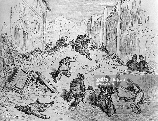France february revolution 1848 The uprising of June after the decision to close the unprofitable national workshops founded in february by minister...